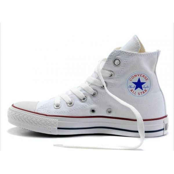 converses blanches femme